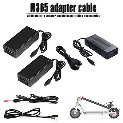 For Xiaomi M365 Electric Scooter Power Cord Cable Charger Line Plug Adapter Tool