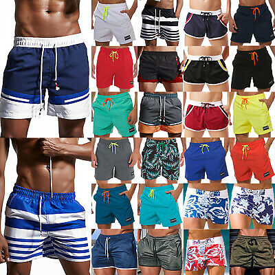 Men's Holiday Summer Pool Party Swim Shorts Swimming Beach Pockets Sports Trunks