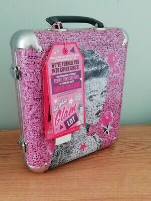 Limited Edition Soap & Glory 'The Whole Glam Lot' Metal Case Gift Set Bnwt  Rare