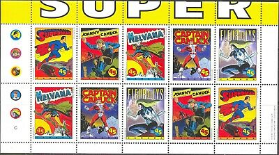 1995 Canada #1583bi Mint Never Hinged Unfolded Booklet Pane from Quarterly Pack