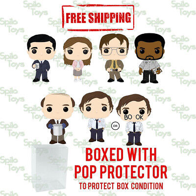 Funko POP! Television The Office Set of 6 W/ Chase Possibility