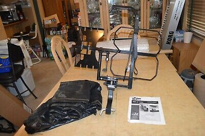 Tilt-N-Tote Model 001 Wheelchair Carrier with Hitch Receiver and Cover Unused!