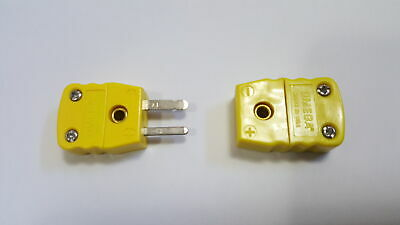 Omega Al Ch K Type Thermocouple Connector Pair