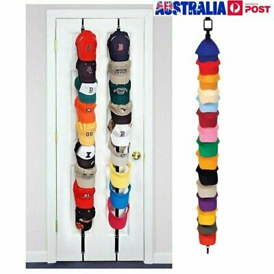 Baseball Cap Rack Hat Holder Rack Home Organizer Storage Door Closet Hanger DM