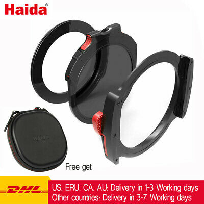 Haida M10 Filter Holder Kit with 77mm Adapter Ring & drop-in CPL