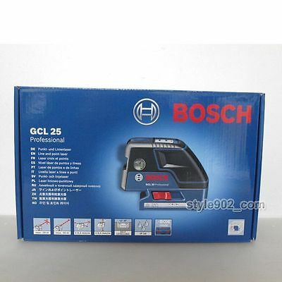 Genuine BOSCH GCL25 Five-Point Self Leveling Alignment Laser Cross-Line GCL 25