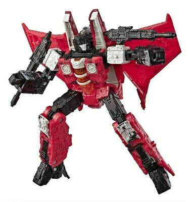 Transformers Generations Selects War For Cybertron Siege Voyager Red Wing Figure
