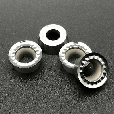 10× Thickened R5 milling insert RPGT10T3MO-AK H01   Used for Aluminum