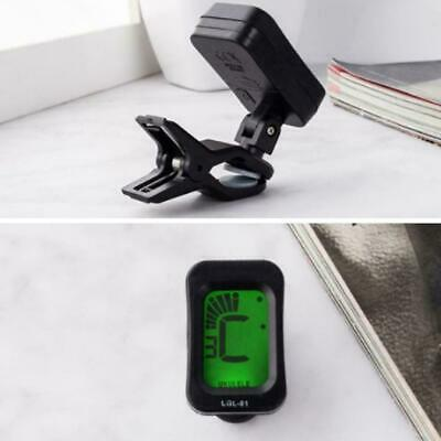 Electric Guitar Tuner Rotating Digital Clip-on High Accessories Sensitivity S5Y2