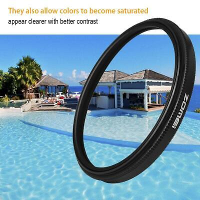 Zomei Ultra Slim Optical Glass Cpl Filter with High Pressure Press Technology