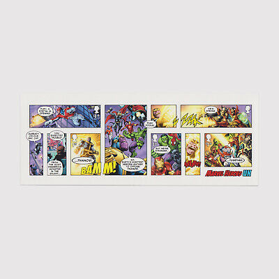 2019 Marvel Miniature Sheet without Barcode