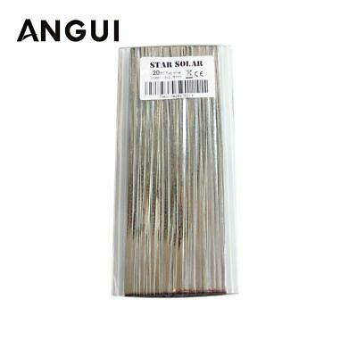 Solar Cell Tab Bus Bar Wire 20m 66ft For Ribbon Tabbing DIY Connect Strip Panel