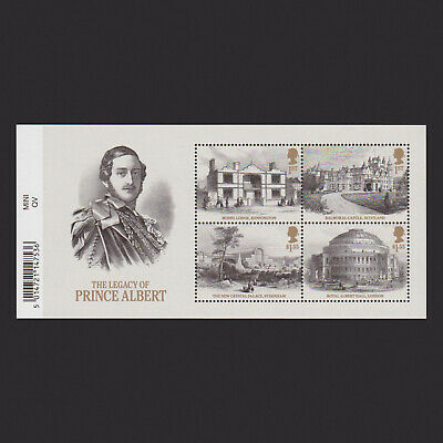 2019 Queen Victoria Miniature Sheet with Barcode
