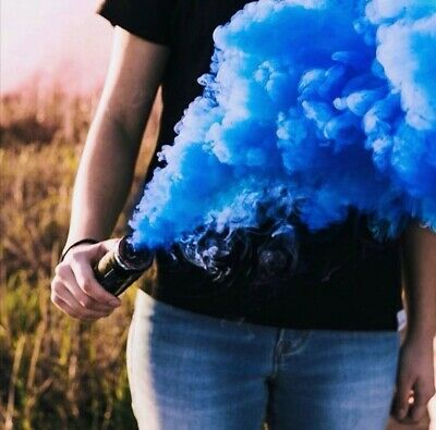 Colour Smoke Tube Bomb Prom Wedding Effect Wire Ring Pull Show Photography