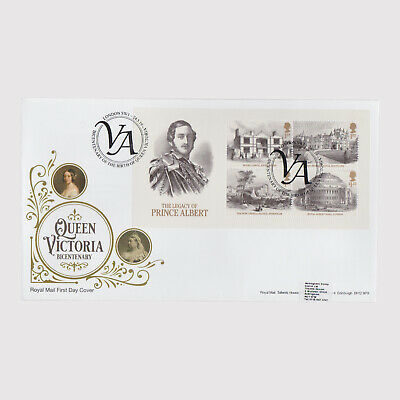 2019 Queen Victoria Miniature Sheet First Day Cover (FDC) - London SW1 Postmark