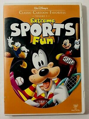 Walt Disneys Classic Cartoon Favorites  Volume 5  Extreme Sports Fun  DVD