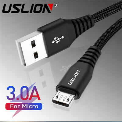 3.0 Micro USB Sync Fast Data Charger Cable Power Cord For Android Mobile Phones
