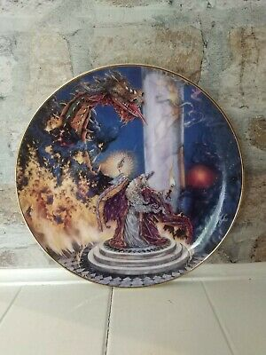 Royal Doulton Franklin Mint Collectors Plate The Dragon Master By Myles Pinkney