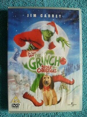 Dr Seuss; How the Grinch Stole Christmas DVD (free postage)