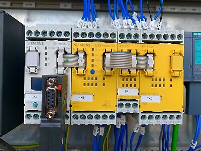 Siemens MSS Advanced safety relay. 3RK3131-1AC10 with I/o's and interface module