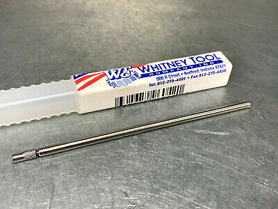 "Whitney 96052 Miniature Drill Extension #60 Drill, 4"" OAL, 1/8"" Shank"