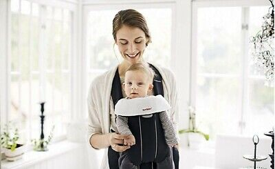New White Bibs for BabyBjorn Carrier-2 Pack For Original, Drool Teething pads