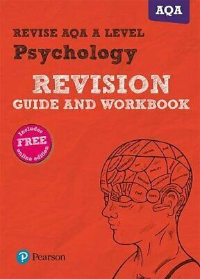 Revise AQA A Level Psychology Revision Guide and Workbook: with FREE online edit