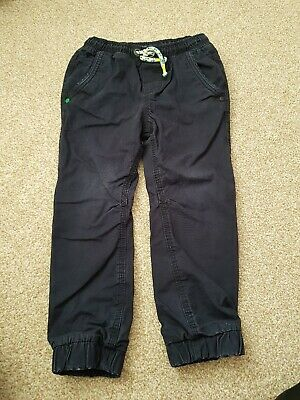 Next  Trousers Boys Size 4 Years Navy Blue