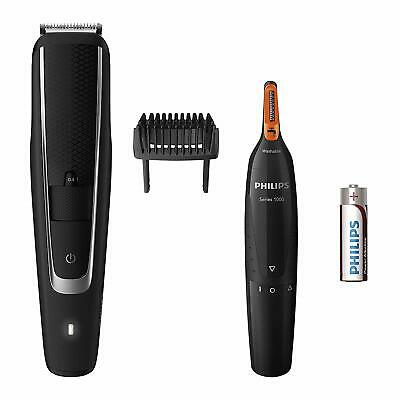 Philips Series 5000 Beard & Stubble + Series 3000 Nose, Ear and Eyebrow Trimmer