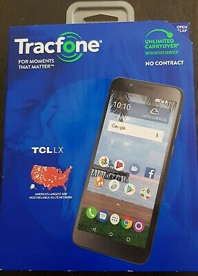 TRACFONE TCL LX 4G LTE Prepaid Smartphone (CDMA-V) Android 8 1