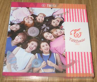 TWICE TWICEcoaster : LANE 1 NEON Ver. TT K-POP CD + PHOTOCARD + 2 POSTER IN TUBE
