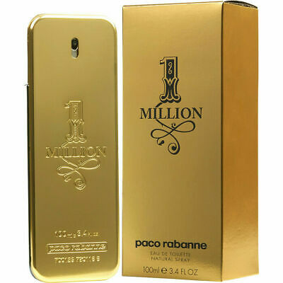 1 One Million Paco Rabanne Spray For Men EDT 3.4 oz/100 ml New Sealed