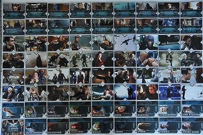 X-Men The Last Stand Rittenhouse - 2006 Trading Base Card Set 72 Cards