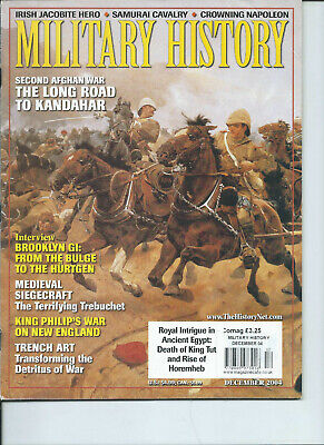 Military History magazine December 2004