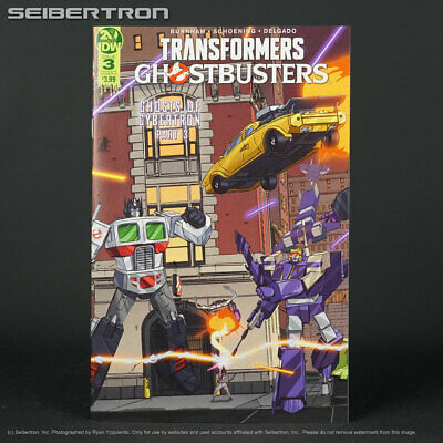 TRANSFORMERS GHOSTBUSTERS #3 Cover A IDW Comics 2019 Ghost of Cybertron 3A