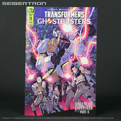 TRANSFORMERS GHOSTBUSTERS #3 Cover B IDW Comics 2019 Ghost of Cybertron 3B
