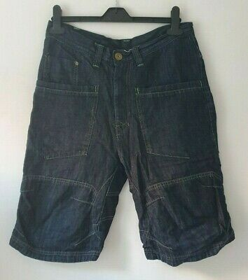 Next Boys Denim Jean Shorts Age 15yrs