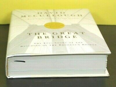 THE GREAT BRIDGE by David McCullough  (Hardcover)  ^ NEW ^