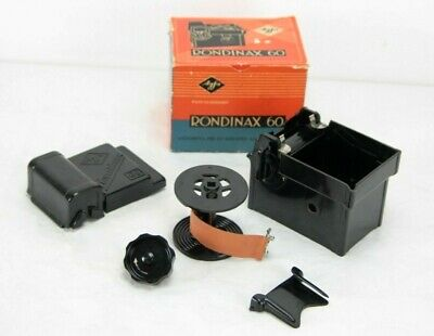 vintage AGFA RONDINAX 60 Daylight Film Developing Tank Roll Film, boxed