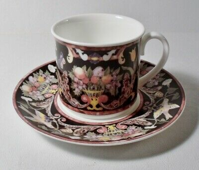 Villeroy & Boch Germany Bone China INTARSIA Cup & Saucer EXCELLENT