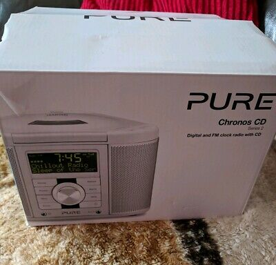 pure chronos cd series 2 dab fm radio new other ex display with defect