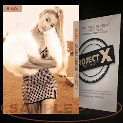 Ariana Grande [ # 633-UNC ] PROJECT X Numbered cards / Limited Edition
