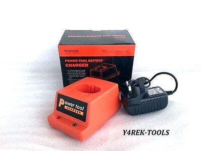 NEW REPLACEMENT CHARGER BASE AND AC/DC ADAPTER FOR PASLODE - Ni-CD or Ni-MH