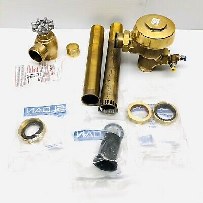 Sloan Royal Closet, Control Stop Valve Flushmetter  Parts Only (Incomplete Set)