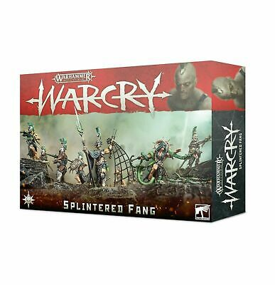 Warcry: The Splintered Fang Faction Warhammer Age of Sigmar ChaosOrc
