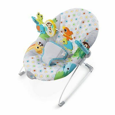 Bright Starts Monkey Business Baby Bouncer Seat