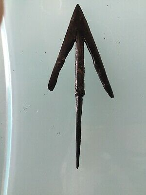 Rare Original ANCIENT EGYPT 3rd INTERMEDIATE PERIOD IRON ARROW HEAD No Reserve
