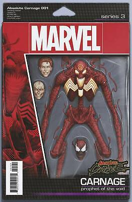Absolute Carnage #1 Christopher Action Figure Variant Marvel Comics 2019 Eb56