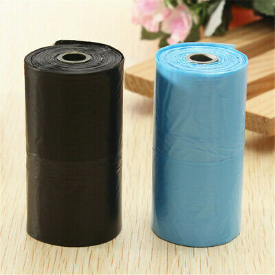 200/400x Dog Poo Bag Pet Cat Waste Poop Clean Pick Up Garbage Bags Portable