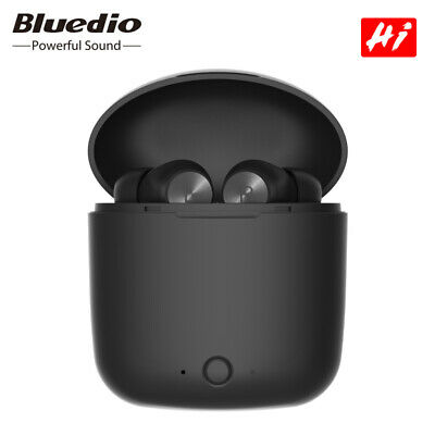 Bluedio Hi Bluetooth 5.0 Sports Waterproof Ear Wireless Headset Earbuds Touch US